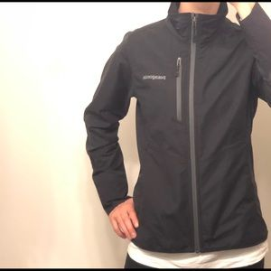 Women's Black Patagonia Softshell Jacket